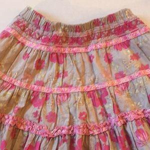 Pumpkin Patch Pink Skirt /Girls Size 5
